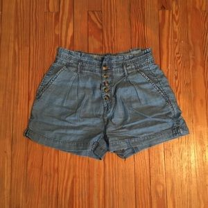 NWOT American Eagle High Waist Jean Shorts 2